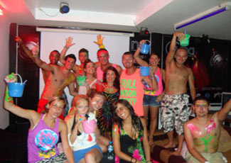 Full Moon Party at The Party Hostel