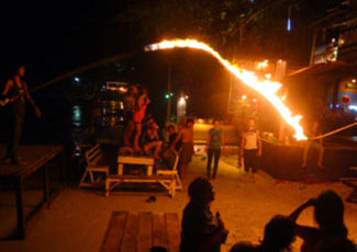 Full Moon Party Fire Games