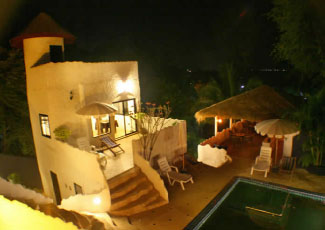 Spectacular Nightime at Sojourn Villas