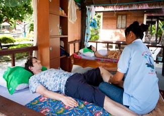 Thai Massage at Bottle Beach 1 Resort