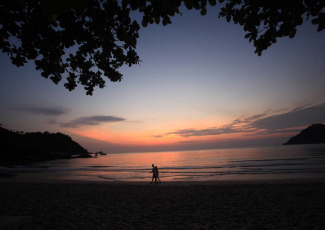 Sunset View at Thong Nai Pan Noi Beach