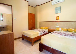 Family Air-Con Bungalow Air-Con 2 Beds