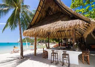 the beach club @ Buri Rasa Koh Phangan