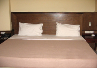 Hotel Room with Double Bed