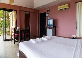 Sea View Villa 1 Double Bed