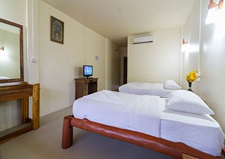 Superior Garden Air-Con Room with 2 Single Beds