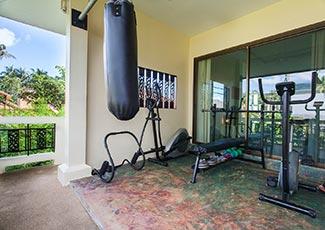 Upstairs Gym
