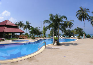 SWIMMING POOL AT LONG BAY RESORT