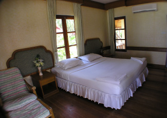 COMFORTABLE AND CLEAN ROOM AT LONG BAY RESORT