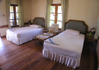 TWIN BEDROOM AT LONG BAY RESORT