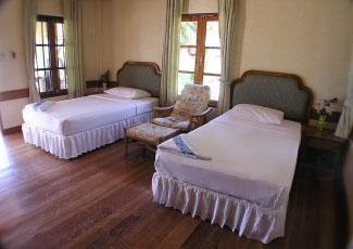 TWIN BEDROOM AT LONG BAY RESORT