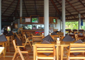CHILLING OUT AT LONG BAY RESTAURANT