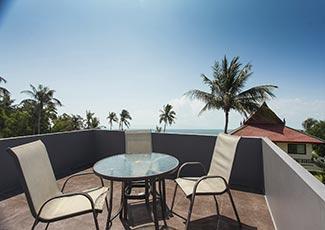 Rooftop Relaxing Area