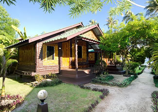 Garden View Air-Con Bungalow