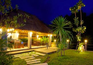 Mangrove Villa at night