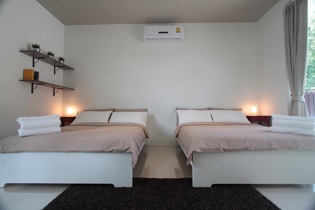 2 Queen Sized Beds in the third bedroom