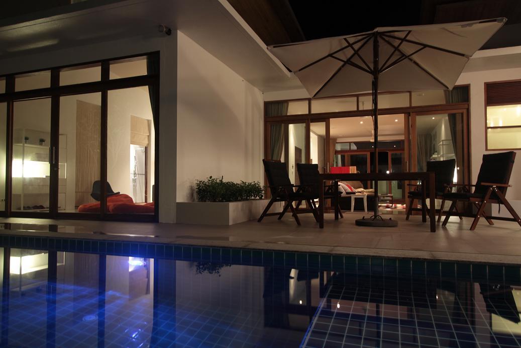 Evening Swimming Pool