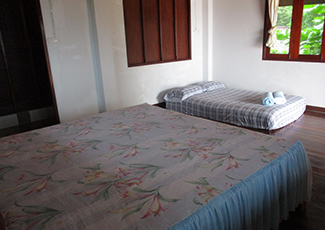 Family Room 1 Double Bed and 1 Mattress