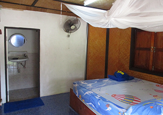 Fan Bungalow Cold Shower