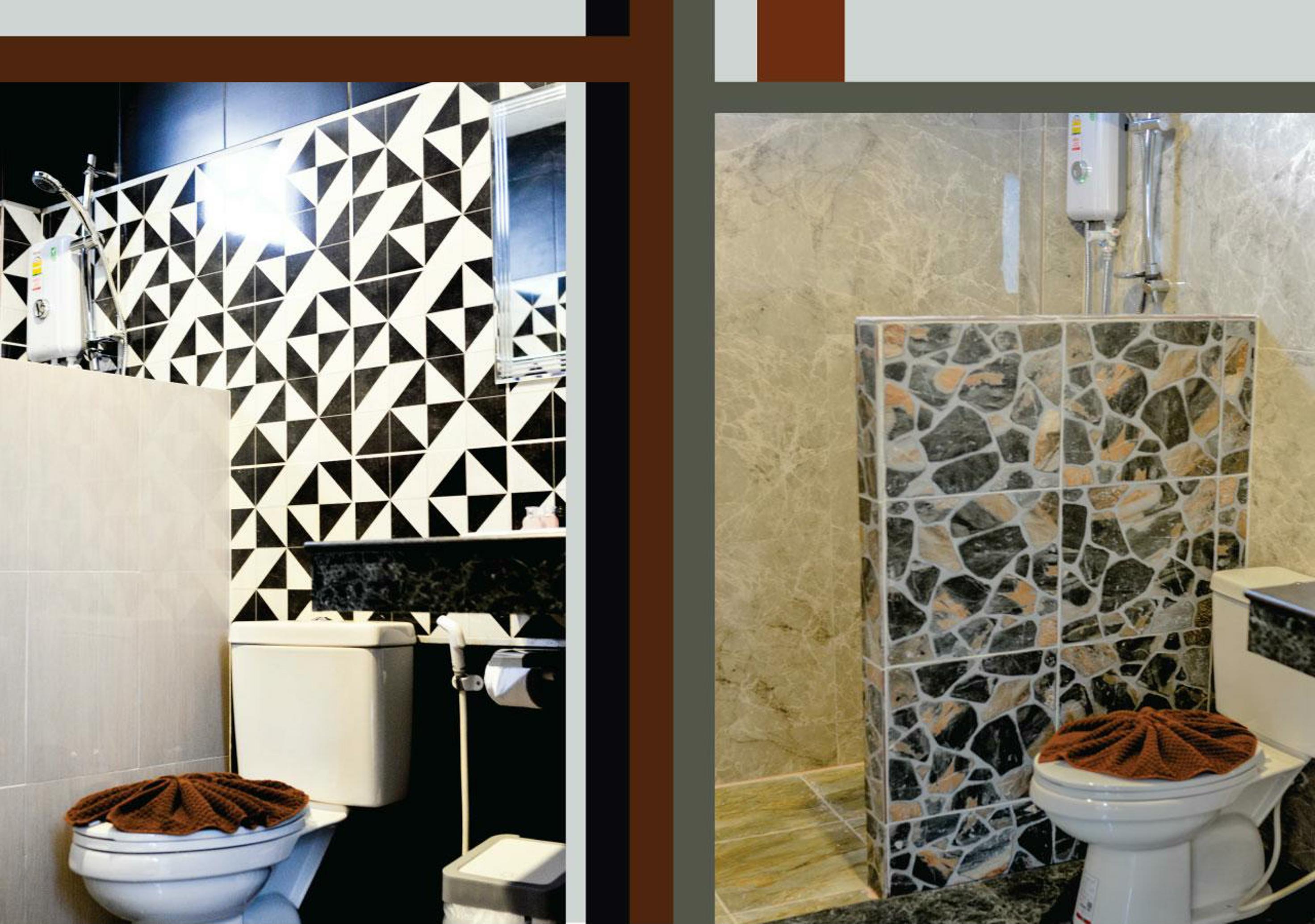 Deluxe Bungalow's Bathroom