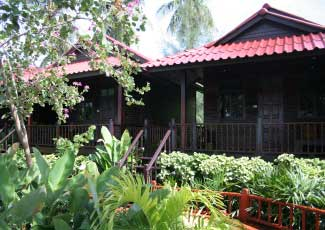 Wooden Bungalows at Salad Hut