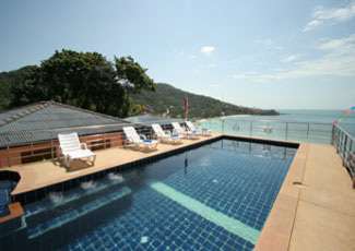 Swimming Pool with Beautiful Sea View